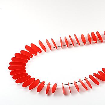red necklace - De�i�ik Kolyeler ve Y�z�kler
